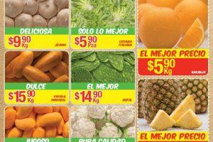 Bodega Aurrera frutas y verduras tiánguis de mamá lucha del 17 al 23 de marzo