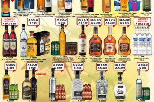 Bodegas Alianza promociones de vinos y licores del 14 al 26 de Marzo