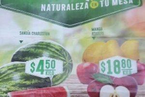 Comercial Mexicana frutas y verduras martes y miercoles del campo 21 y 22 de marzo