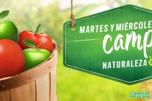 Comercial Mexicana frutas y verduras martes y miercoles del campo 28 y 29 de marzo
