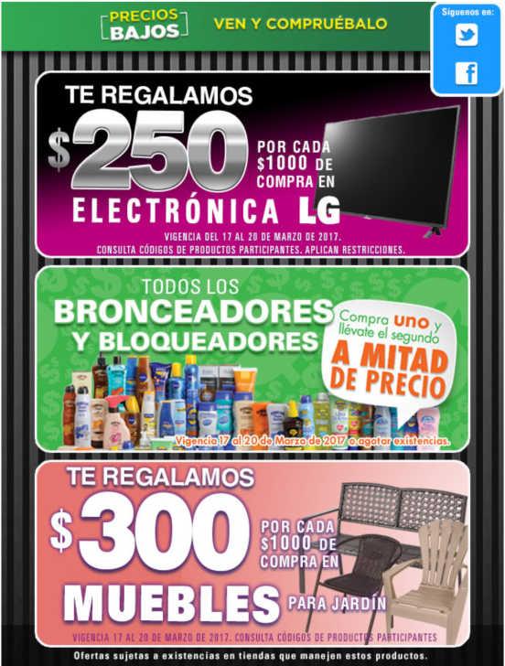 Comercial Mexicana te regala $250 en Electronica y $300 en Muebles ...
