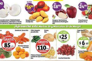 Frutas y Verduras Soriana 28 y 29 de Marzo de 2017
