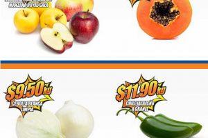 Frutas y verduras Chedraui 14 y 15 de marzo de 2017