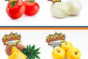 Frutas y verduras Chedraui 7 y 8 de marzo de 2017