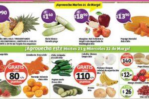 Frutas y Verduras Soriana 21 y 22 de Marzo de 2017
