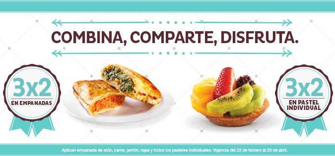 El Globo: 3×2 en pasteles individuales y empanadas
