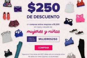 Innovasport cupón de $250 de descuento en ropa y calzado de mujeres y niñas