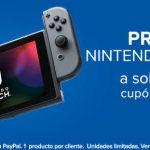 Linio cupón de $1000 de descuento en Nintendo Switch con Paypal