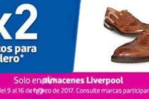 Liverpool 3×2 en zapatos para hombre 9 al 16 de marzo de 2017