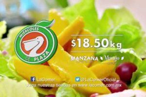 Miércoles de Plaza La Comer Frutas y Verduras 15 de Marzo 2017