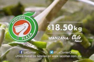 Miércoles de Plaza La Comer Frutas y Verduras 29 de Marzo 2017