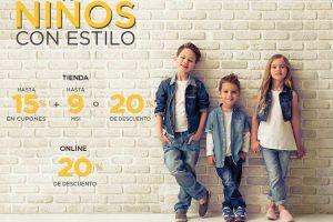 Palacio de Hierro Hasta 20% de Descuento Niños con Estilo