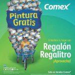 Promoción Comex Regalón Regalitro 2017 Pintura GRATIS