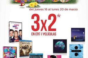 Sanborns 3×2 en CDs y películas y 30% de descuento en electrónica