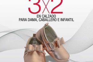 Sears 3×2 en calzado y zapatos para toda la familia al 4 de Abril