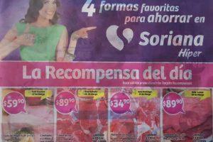 Soriana Híper y Súper promociones tarjeta recompensas del 17 al 20 de marzo