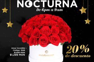 Venta Nocturna EnviaFlores 15 de Marzo 2017