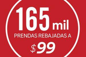 C&A miles de prendas rebajadas a sólo $99 pesos