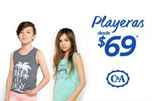C&A playeras para toda la familia desde $69 pesos
