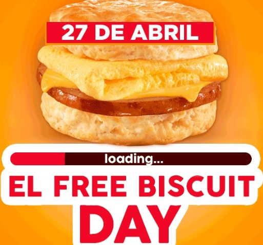 Carl's Jr: Biscuits Gratis en Nuevo León, Saltillo Coahuila y León Gto 27 de Abril