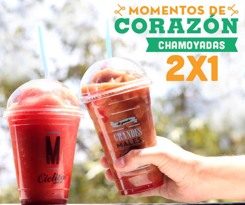 Cielito Querido Café: 2×1 en chamoyadas del 27 de abril al 1 de mayo