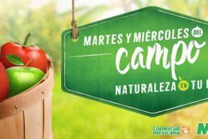 Comercial Mexicana y Mega frutas y verduras del campo 25 y 26 de abril 2017