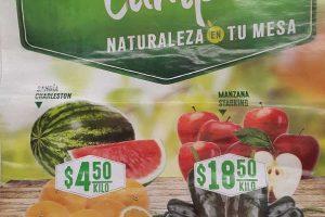 Comercial Mexicana frutas y verduras martes y miercoles del campo 4 y 5 de abril