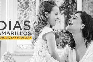 Días Amarillos Palacio de Hierro del 28 al 30 de Abril 2017