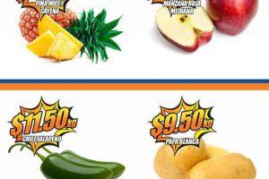 Frutas y Verduras Chedraui 4 y 5 de Abril 2017