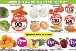 Frutas y Verduras Soriana 18 y 19 de Abril de 2017