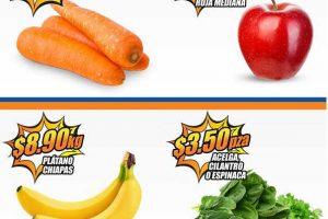 Frutas y Verduras Chedraui 18 y 19 de Abril de 2017