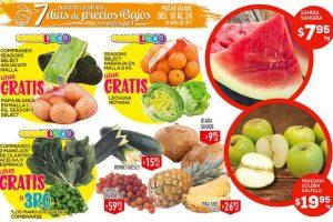 Frutas y verduras HEB del 18 al 20 de Abril 2017