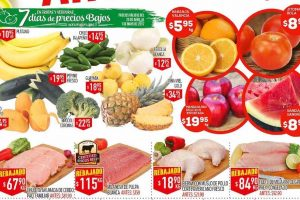 Frutas y verduras HEB del 25 al 27 de Abril 2017