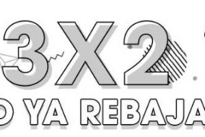 Osom 3×2 en prendas ya rebajadas al 24 de abril