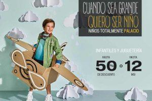 El Palacio de Hierro 50% de descuento en Infantiles y Juguetería
