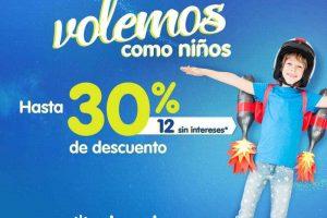 Promoción Interjet Día del Niño 30% de Descuento en Vuelos
