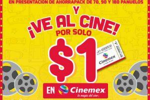 Promoción Kleenex te invita al cine 2×1 en Cinemex de lunes a domingo