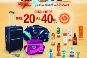 Sanborns hasta 40% de descuento en maletas y accesorios de viaje