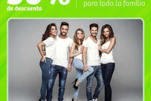 Soriana 30% de descuento en Jeans y 25% en maquillaje