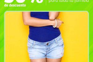 Soriana 30% de descuento en ropa de playa e interior del 11 al 13 de abril