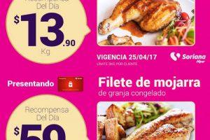 Soriana promociones tarjeta recompensas del 25 al 30 de abril 2017