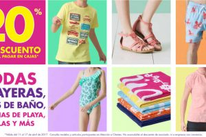 Suburbia 20% de descuento en playeras, trajes de baño, sandalias, toallas y más
