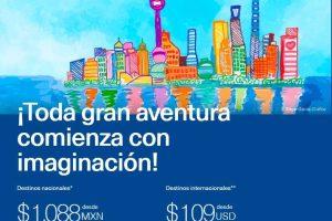 Venta Azul Aeroméxico Día del Niño Vuelos desde $1,088
