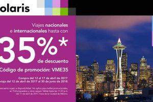 Volaris: 35% de descuento en viajes nacionales e internacionales