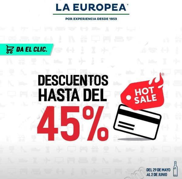 Ofertas de Hot Sale 2017 en La Europea