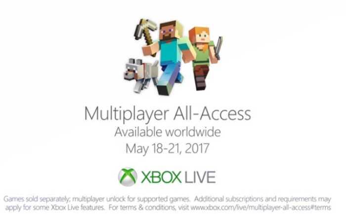 Xbox Live Gold GRATIS y Minecraft Xbox One Edition Limited al 21 de mayo