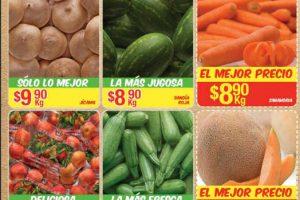 Bodega Aurrera frutas y verduras tiánguis de mamá lucha del 12 al 18 de mayo