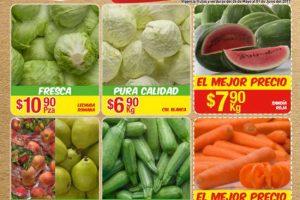 Bodega Aurrera frutas y verduras tiánguis de mamá lucha al 1 de junio