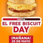 Carl's Jr Biscuit Gratis en Nuevo Leon, Coahuila y Guanajuato 25 de Mayo