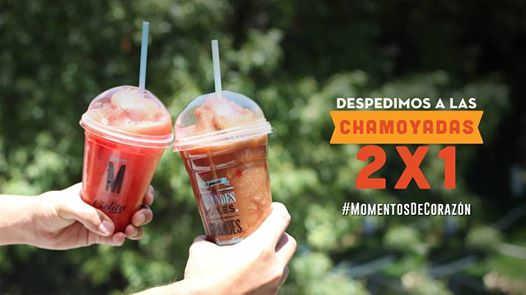Cielito Querido Café: 2×1 en chamoyadas del 19 al 21 de mayo de 2 a 6 pm